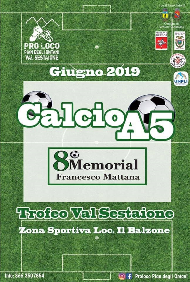 Calcio A 5 – 8° Memorial Francesco Mattana