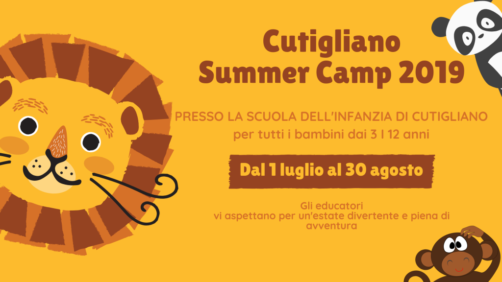 Cutigliano Summer Camp