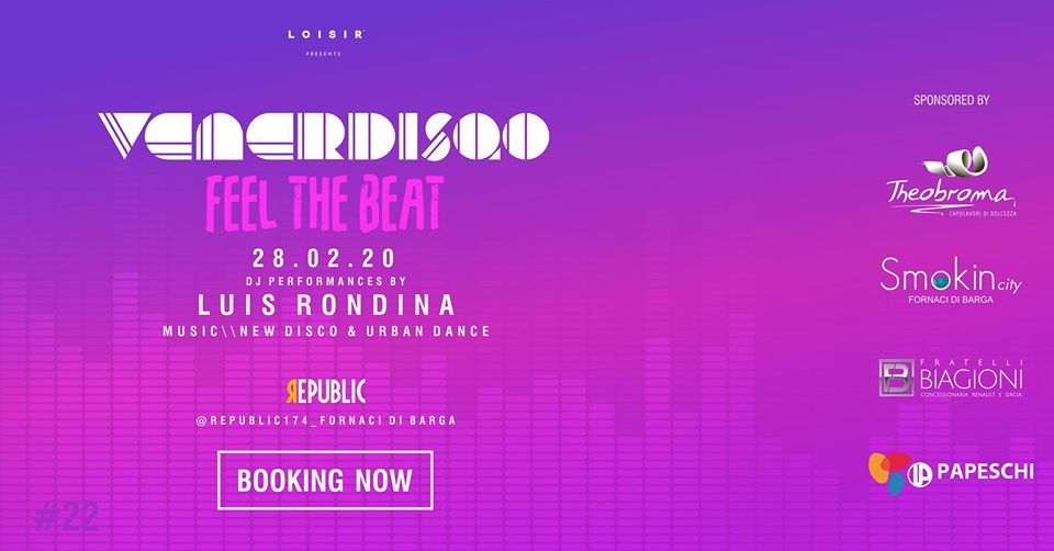 Venerdisqo at Republic \\ Feel The Beat