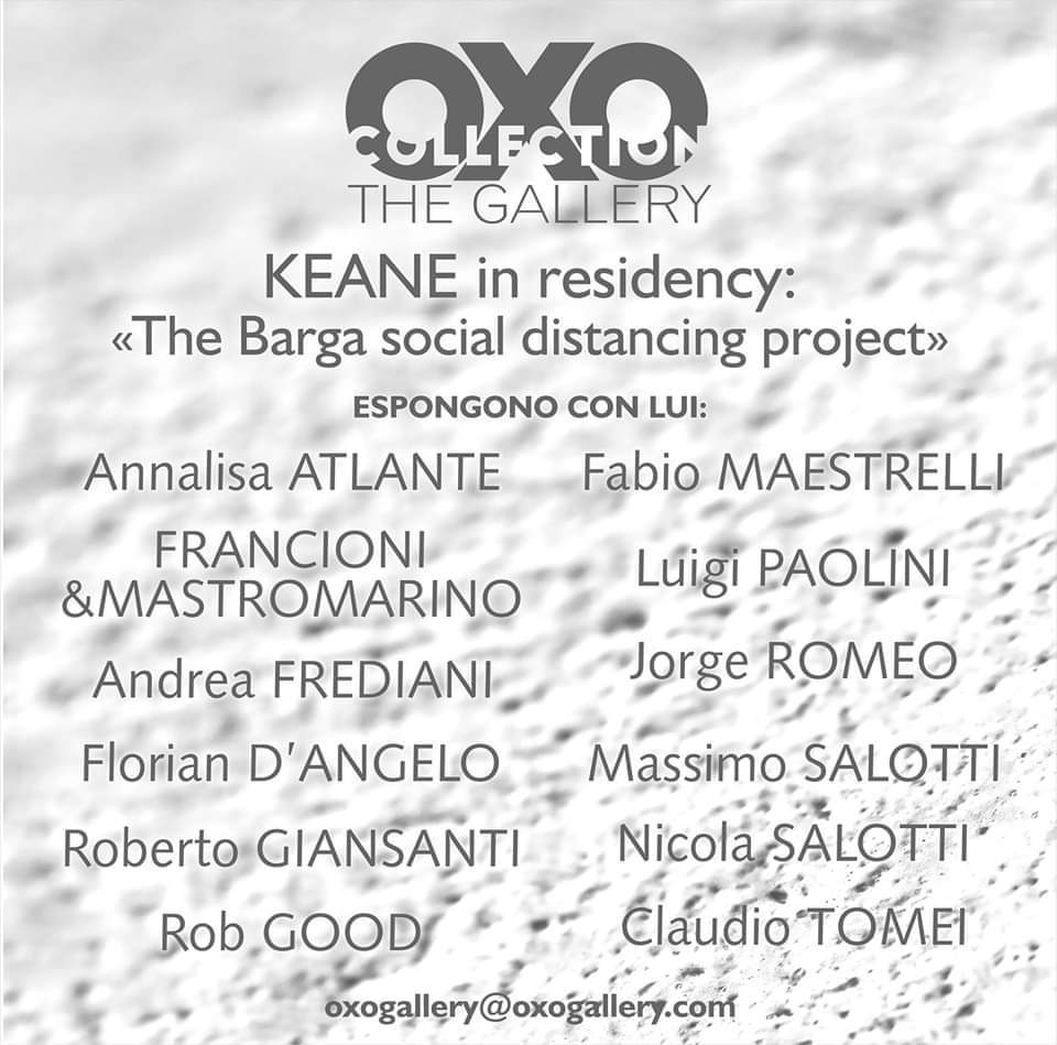 "KEANE ""The Barga social distancing project"""