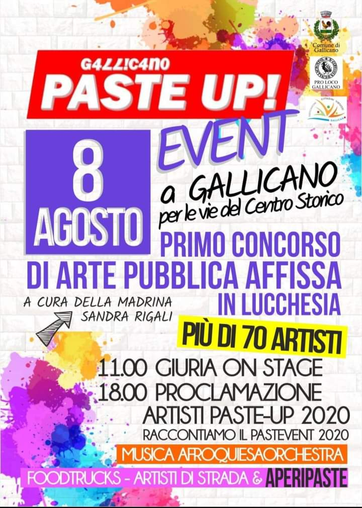 Paste Up Event