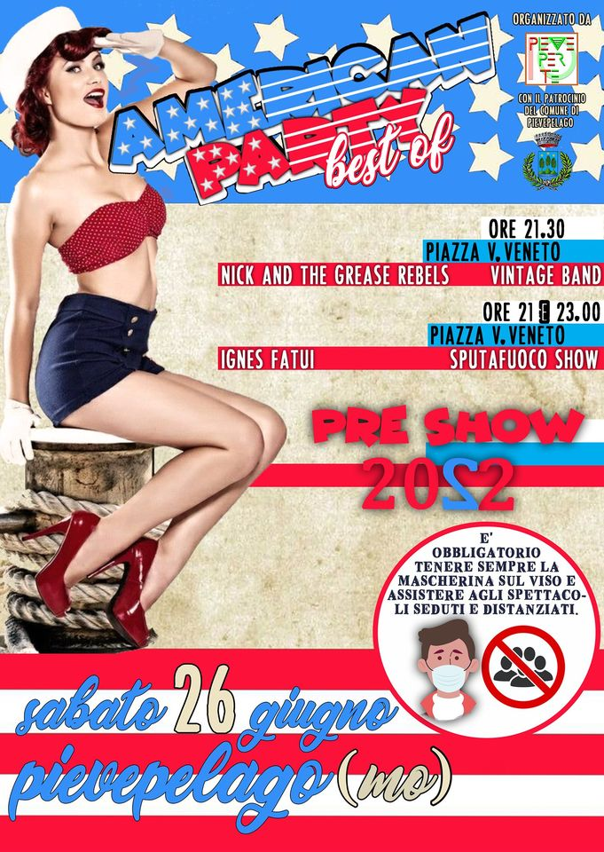 """American Party """"Best of"""" Pre Show 2022"""